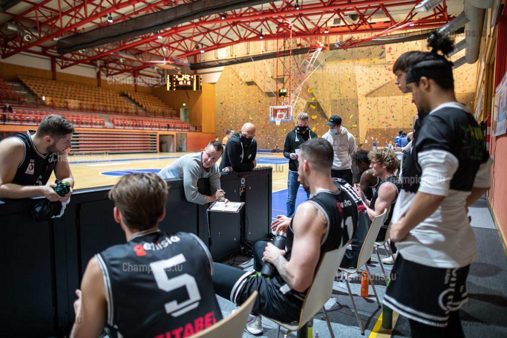 Ken Diederich and T71 Dudelange team