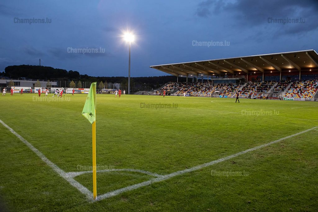 Municipal Stadium in Differdange