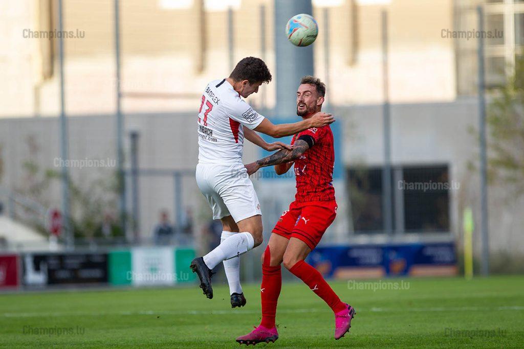FC Differdange – Victoria Rosport – Johannes Steinbach – Aurélien Joachim