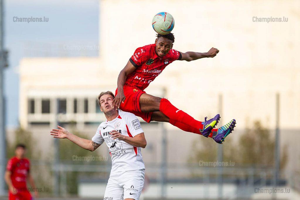 FC Differdange – Victoria Rosport – Sanoussy Baldé