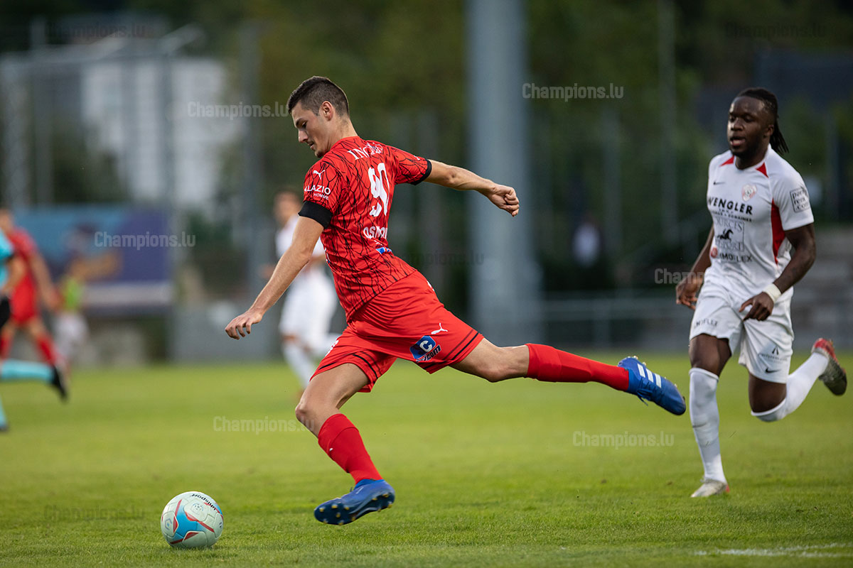 Edin Osmanovic of FC Differdange