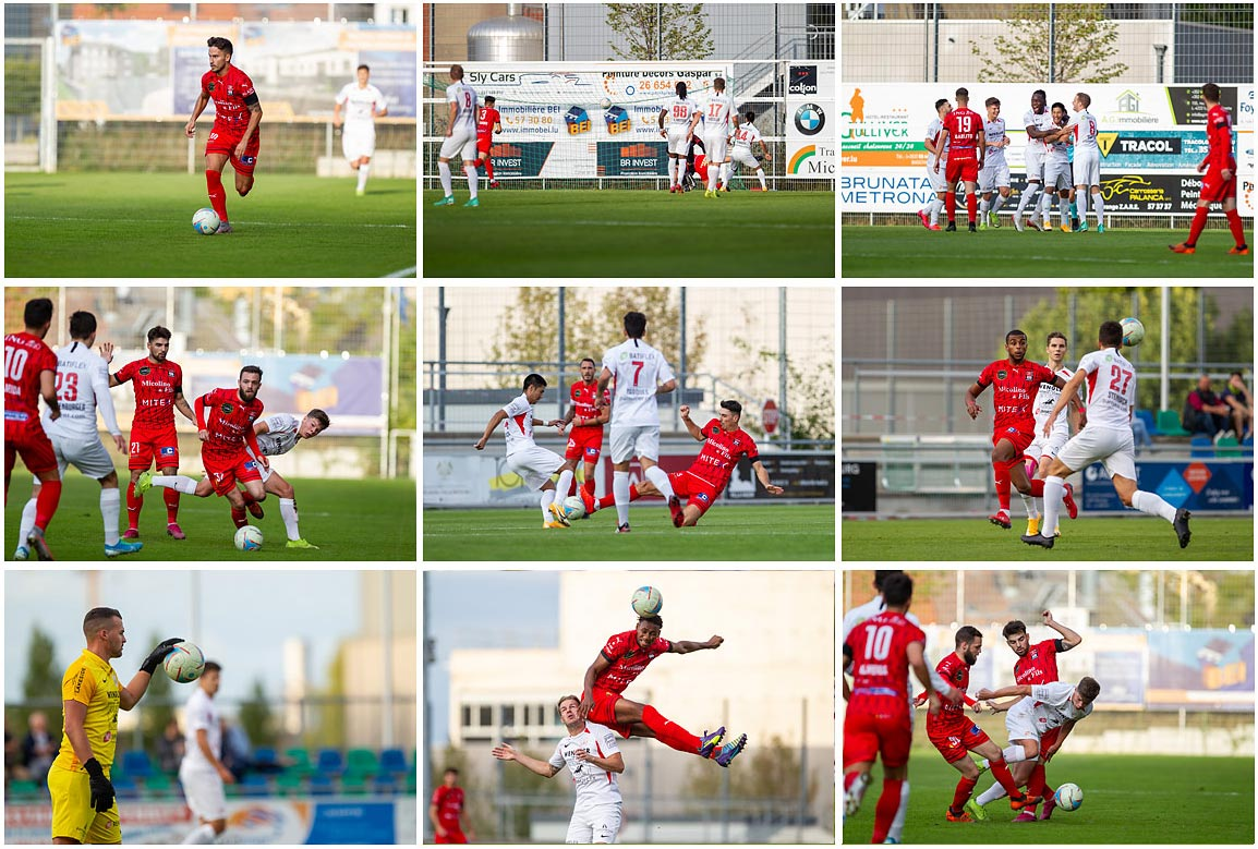 FC Differdange vs Victoria Rosport full photo gallery
